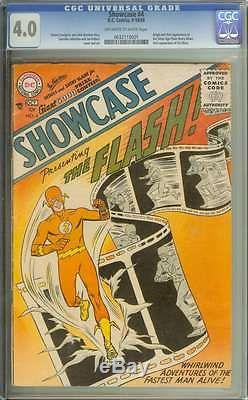 SHOWCASE #4 CGC 4.0 OWithWH PAGES