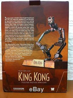 SIDESHOW 1933 KING KONG HTF STOP MOTION Figure ARMATURE PROP REPLICA Bob Burns