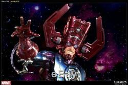 SIDESHOW Collectibles GALACTUS Maquette STATUE FANTASTIC Four Silver Surfer bust