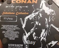 SIDESHOW EXCLUSIVE CONAN THE BARBARIAN Price SCALE STATUE PREMIUM FORMAT FIGURE