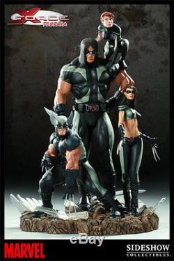 SIDESHOW EXCLUSIVE NEW! MIB! X-FORCEDIORAMASTATUE WOLVERINE X-23 X-MEN Bust