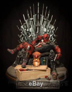 SIDESHOW Kotobukiya Deadpool Game of Fools 1/4 Scale Exclusive figure Extra rare