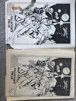 STAR WARS COMICS Issue 1 -115 ORIGINAL 1977 COMICS (MARVEL) Complete Collection