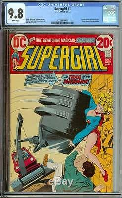 Supergirl #1 Cgc 9.8 White Pages