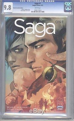 Saga #1 Retailer RRP Variant CGC 9.8 (RARE)