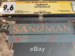 Sandman #1 cgc 9.6 ss Sam Keith, 1st Morpheus