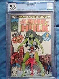 Savage She-hulk #1 Cgc 9.8 (nm/m) Origin & 1st She-hulk Appearance 1980