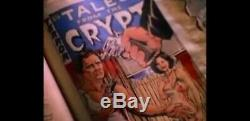 Screen Used Tales from the Crypt Art Comic book Hero prop page cover EC COMICS