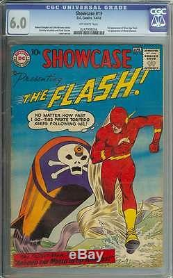 Showcase #13 Cgc 6.0 Ow Pages