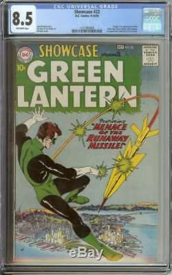 Showcase #22 Cgc 8.5 Ow Pages