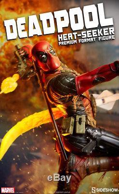 Sideshow Deadpool Heat-Seeker Marvel Premium Format Figure Statue In Stock New