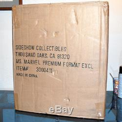Sideshow Exclusive MS MARVEL Premium Format Statue #222/750 MIB Avengers