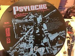 Sideshow Exclusive Psylocke Polystone Statue MARVEL Mark Brooks print Rare HTF