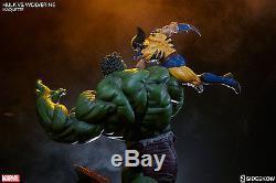Sideshow Marvel Hulk vs. Wolverine Maquette X-Men, Avengers, Statue, Ragnarok