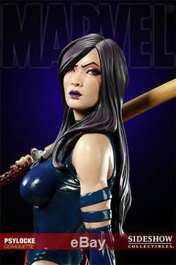 Sideshow Psylocke Exclusive Comiquette Statue NIB Not Bowen X 23 Professor X Men