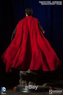 Sideshow Superman Man Of Steel Premium Format 1/4 Scale Statue Figure DC Comics