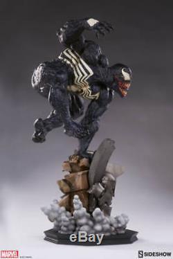 Sideshow Venom Marvel Comics Spider-Man Premium Format Figure Statue In Stock