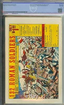 Silver Surfer #1 Cbcs 8.5 White Pages