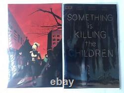 Something Is Killing The Children 1-14 1st Print Lot + Variants (16 books)
