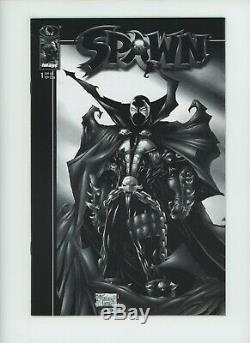 Spawn #1 Image B&W Sketch Variant Comic Book Cover Todd McFarlane