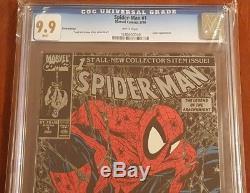 Spider-Man (1990) #1 CGC 9.9