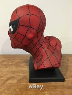 Spider-Man Lifesize Bust 1/1 Alex Ross Marvel Exclusive Brand New statue