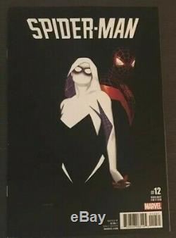 Spider-man #12 2017 125 Spider-Gwen Variant Marvel Comic Book SpiderGwen