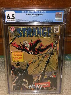 Strange Adventures #205 CGC 6.5 DC 1967 1st Deadman! Key Book! K10 341 cm clean