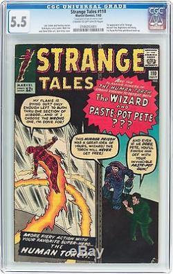 Strange Tales 110 CGC 5.5 1st app Doctor Strange Comic #110