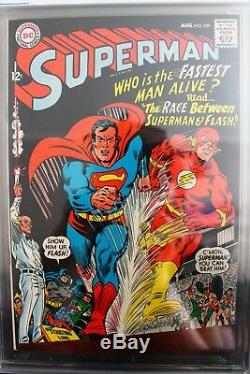 Superman #199 (DC) VF+ CGC 8.5 HIGH RES PICTURES! ALL SIDES! NICE BOOK