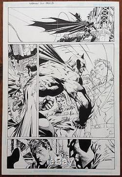 Superman #210, Pg. 13 Jim Lee Original Comic Book Art