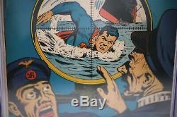 Superman #23 CGC 5.5 WWII Hard to find Book DC Comic Book 1943