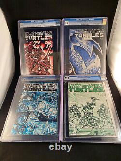 TEENAGE MUTANT NINJA TURTLES # 1 2 3 4 9.8 CGC (First Print) WHITE 1984 TMNT