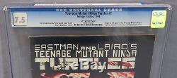 TEENAGE MUTANT NINJA TURTLES #1 (First Print) CGC 7.5 Mirage Studios 1984 TMNT