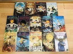 THE PROMISED NEVERLAND 1-14 Manga Collection Complete Set Volumes ENGLISH RARE