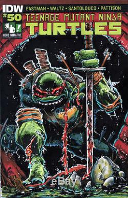 The Teenage Mutant Ninja Turtles #50 Hero Initiative 100 Project Daniel Campos