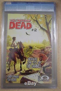 The Walking Dead #1 (2003) Cgc 9.8 White Pgs Rare White Label Kirkman Amc