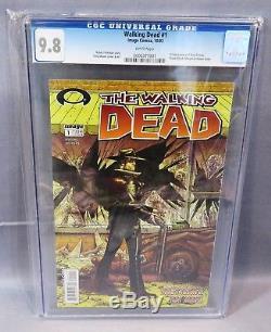 THE WALKING DEAD #1 (First Print) CGC 9.8 NM/MT Robert Kirkman Image Comics cbcs