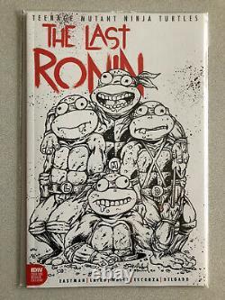 TMNT The Last Ronin Roiland / Eastman Variant Set Books in Hand