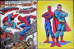 TREASURY SUPERMAN vs AMAZING SPIDERMAN 1st MARVEL DC VF+ COLLECTORS EDITION
