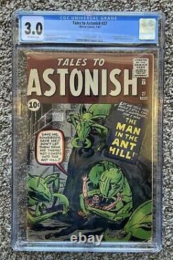 Tales To Astonish 27 CGC NR! Buy Now! 1st Ant-Man KEY Silver Age Comic CBCS PGX