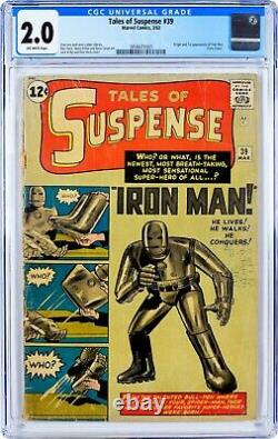 Tales of Suspense #39 CGC 2.0 1st APPEARANCE OF IRON MAN