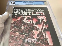 Teenage Mutant Ninja Turtles #1 CGC 6.0 White Pages -TMNT