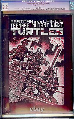 Teenage Mutant Ninja Turtles #1 CGC 9.2 Mirage 1984 1st Print! White Pages! Cm