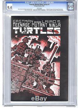 Teenage Mutant Ninja Turtles #1 CGC 9.4 1984 WHITE! 5,000+ Feedback! E6 111 cm