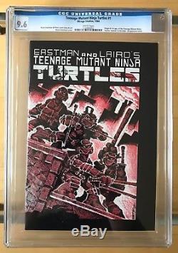 Teenage Mutant Ninja Turtles (TMNT) #1 1st Printing CGC 9.6 (Mirage, 1984)