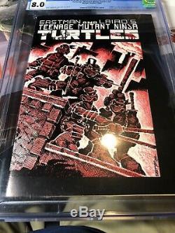 Teenage mutant ninja turtles 1 First Print Cgc 8.0