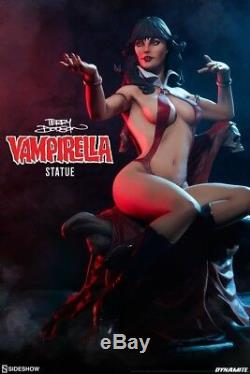 Terry Dodson 15 Scale Vampirella Statue By Sideshow Dynamite Comics New