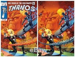 Thanos #17 JG Jones Silver Surfer #4 Homage Trade Dress + Virgin Variant Set