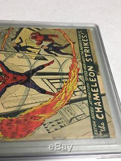 The Amazing Spider-Man #1 CGC 3.0 Universal Grade 1963 Off White to White Pages